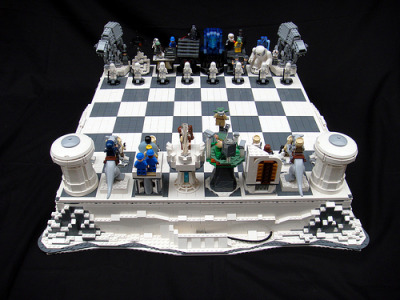 theforce:  Star Wars: The Empire Strikes Back Lego Chess  (by icgetaway)