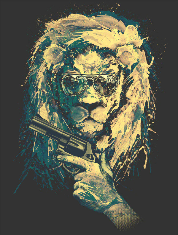 Lion Always Cool (V.3) by Chawit WSWW