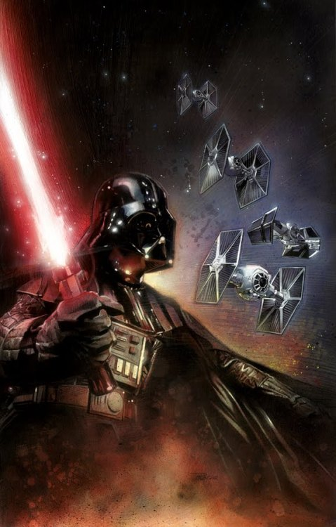 tiefighters:  Power of the Dark Side - by Nick Runge