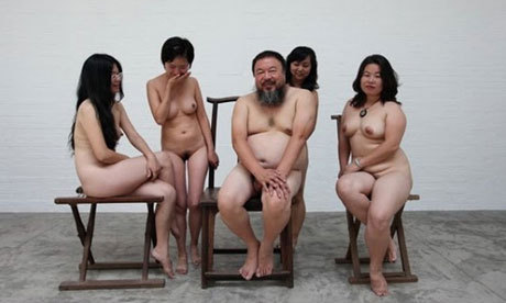 "Ai Weiwei investigated over nude art | Art and design | The Guardian ""Ai Weiwei is under investigation for spreading pornography, the Chinese artist  has said, as the authorities turned their attention from political  subversion and tax evasion to online images of nudity. He said  police had questioned his cameraman Zhao Zhao on Thursday over pictures  Zhao had taken of the artist. ""They clearly told him this is an  investigation, now, they are doing on me, on pornography,"" Ai told the  AFP news agency."""