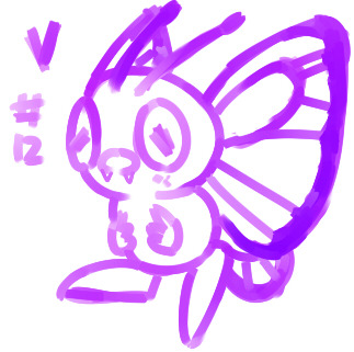 number 12 Butterfree