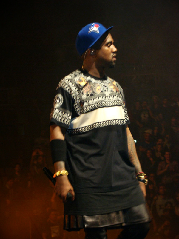 Went to Watch the Throne last night in Toronto. At the end of the concert Mike Divincenzo threw his new Blue Jays hat up on stage. The rest, as they say, is history.