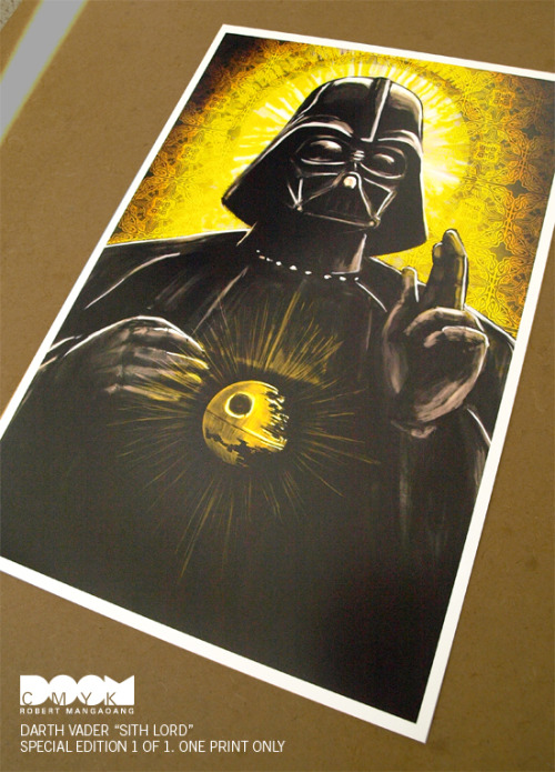 Darth Vader Sith Lord (original v2) Special Edition. Sold.