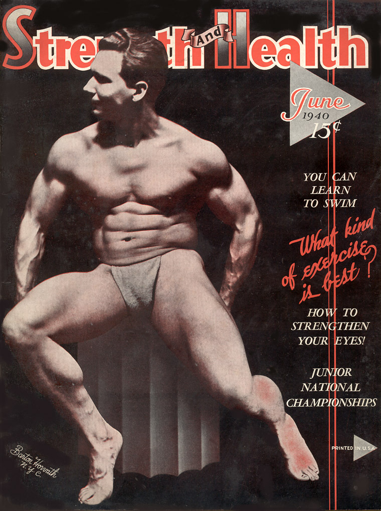 Strength and Health, June 1940