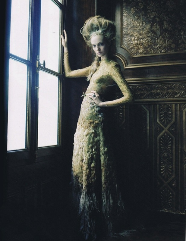 Nimue Smit in Harper's Bazaar Australia December 2011 by Viktor Demarchelier