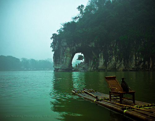 The Elephant Trunk Hill | Guilin City, Guangxi Province, China© jon.noj