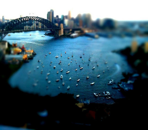 theworldwelivein:  Looking down on Sydney Harbour, Australia© Michael.Sutton