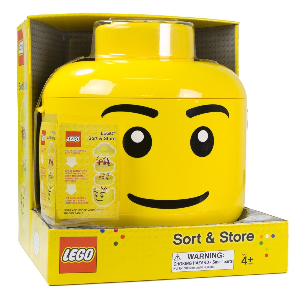 Gift Idea #23: Lego Sort and Store $40 Pretty ingenious way to clean up little kiddies' lego mess… and to save everyone from accidentally-stepping-on-a-darn-hard-lego pain.