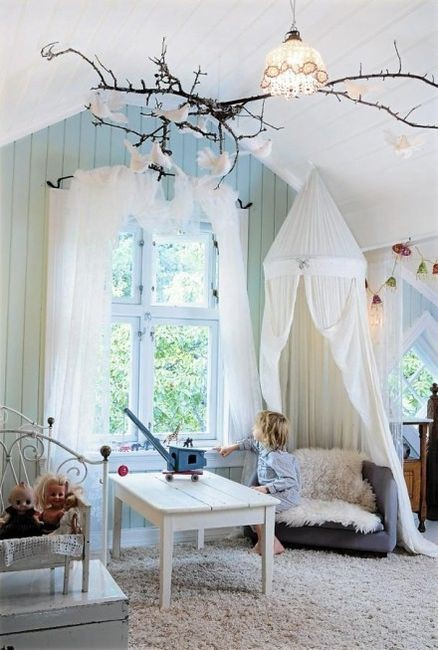 fairy bedroom for a princess
