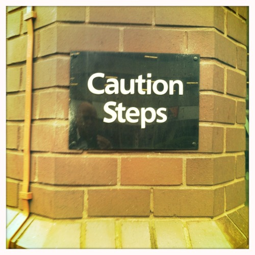 Caution Steps Paul Conneally 2011