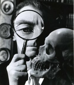 beautyandterrordance: Peter Cushing as Dr. Christopher Maitland, in The Skull (1965)