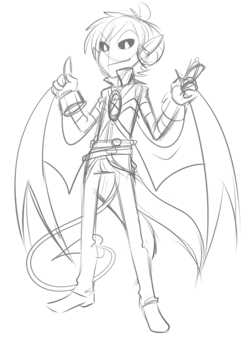 I wish I can do that Disgaea style better. Ahwell, this was fun in any case.