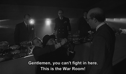 extranuance:  Dr. Strangelove  This always makes me laugh.