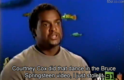 90s90s90s:  The origin of the Carlton Dance.