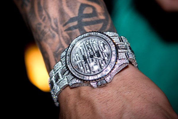 iced out rollie…