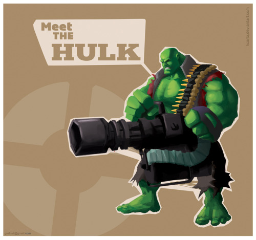 assorted-goodness:  Heavy Hulk by Carlo C. Neira Echave
