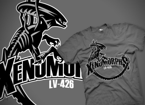 """LV-426 Xenomorphs"" by D4N13L Available now on RedBubble!"