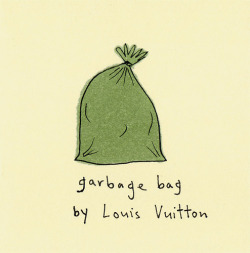 garbage bag by Louis Vuitton by Marc Johns on Flickr.