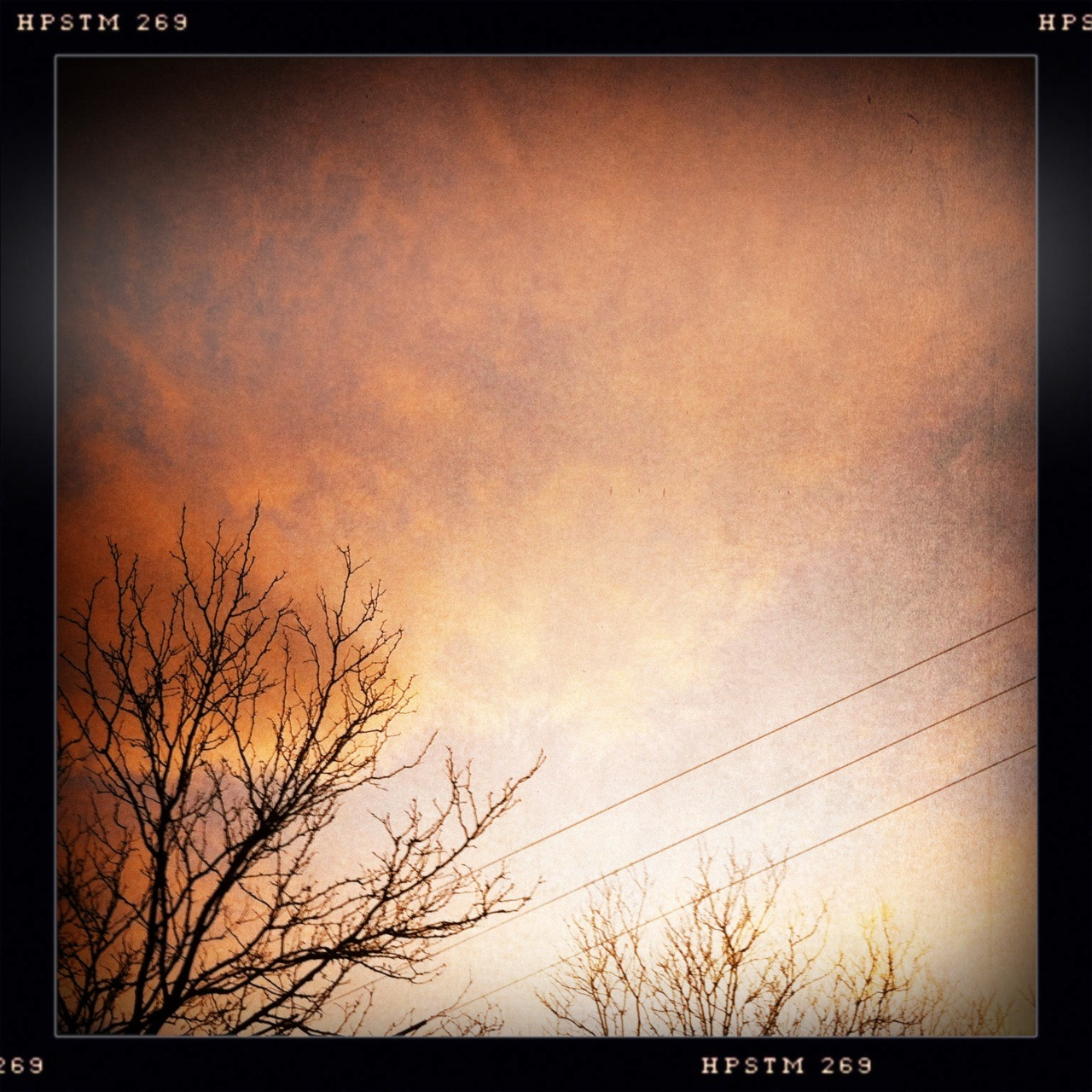The Sky's on Fire I Taken with Hipstamatic, Libatique 73 Lens, Pistil Film, No Flash.
