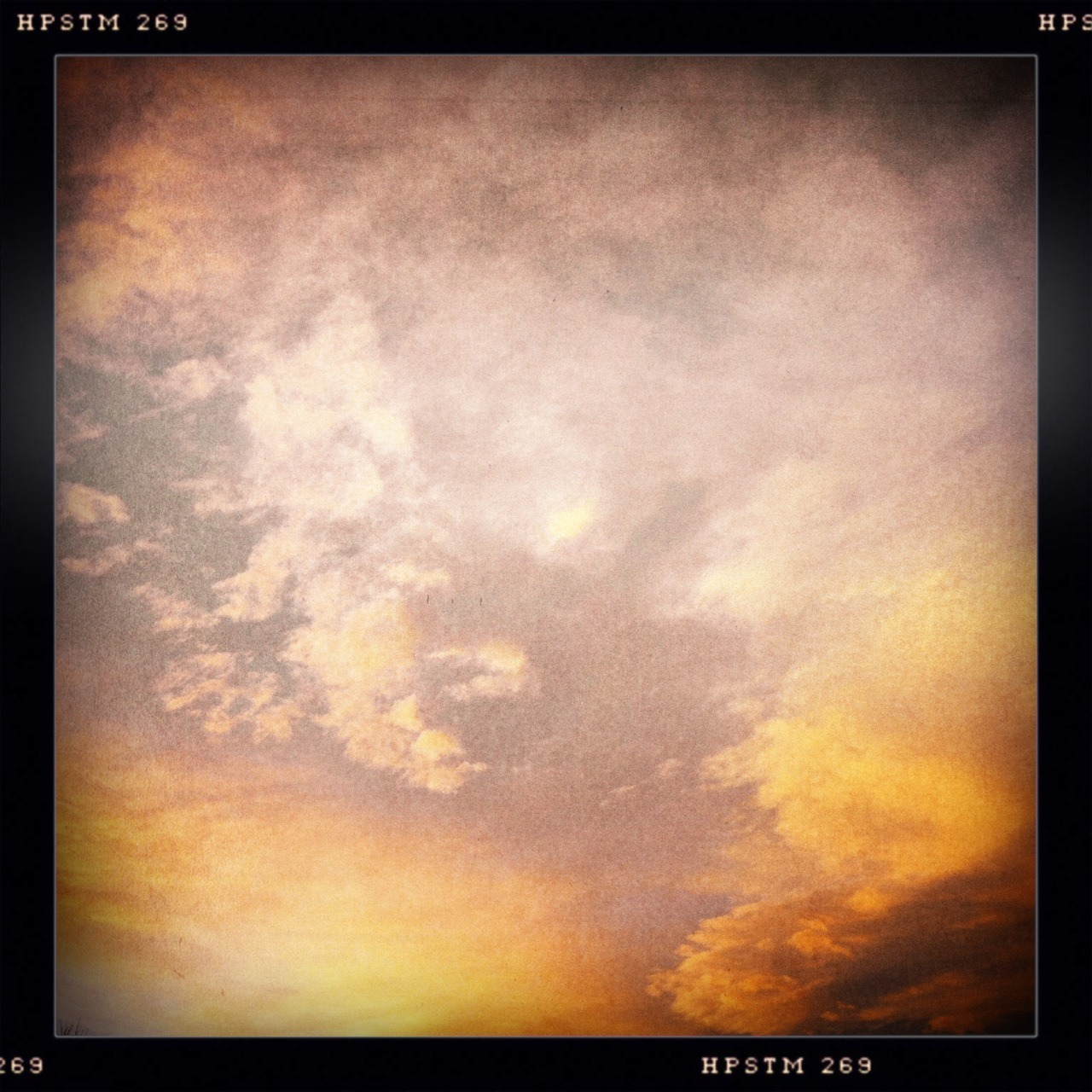 The Sky's on Fire II Taken with Hipstamatic, Libatique 73 Lens, Pistil Film, No Flash.