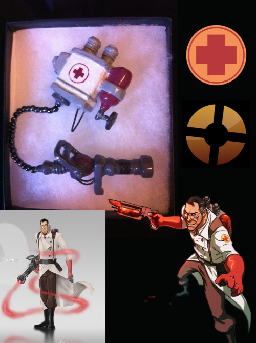So this came in the mail today… Thanks a million to TF2 Charms! I love it so much. To anyone considering a purchase or making an order, do it! She was quick, affordable and the final product is just amazing!