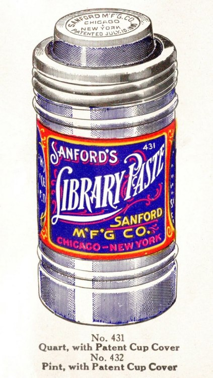Designersgotoheaven.com - Sanfords' inks (Via Letterology).