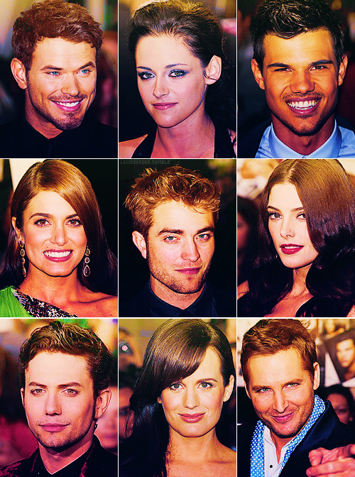 lexieberger:  Cast Twilight