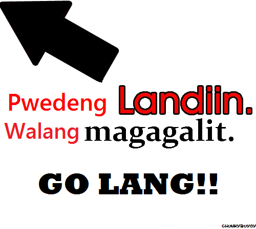 Today is Landian Friday LOLJK  MAKE LANDI HERE lol HAHAHA