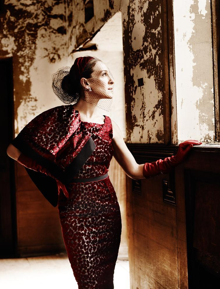 in-the-middle-of-a-daydream:  Sarah Jessica Parker by Mario Testino