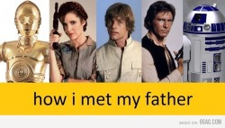 sonky:  how I met your father