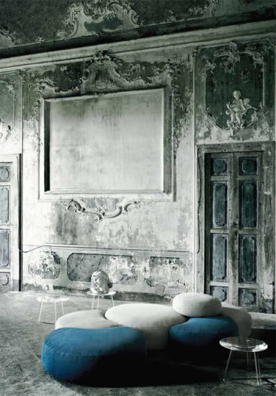 pasticca di piero lissoni-living divani on THE DESIGN TRAVELLER