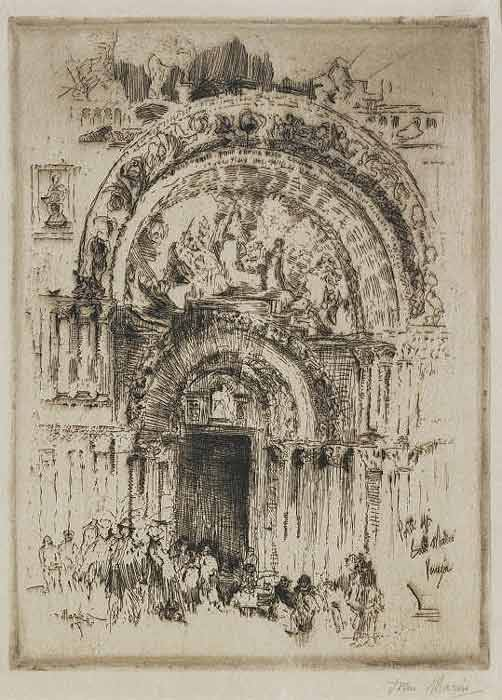 John Marin Doorway, St. Mark's, Venice, 1907