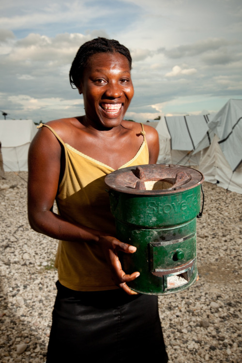 Mothers save 20% of the household income by using a charcoal-efficient stove in Haiti. Learn more at www.theadventureproject.org.