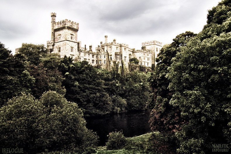"""Lismore Castle"" by Benjamin Padgett  As viewed from the bridge over the River Blackwater in County Waterford, Ireland. Read more about Lismore Castle on IRElogue or click on the photo for prints."