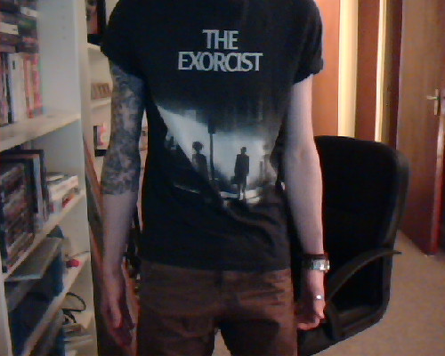 YEEEEEEEAH a new T shirt! Been after a bad boy like this for YEARS!