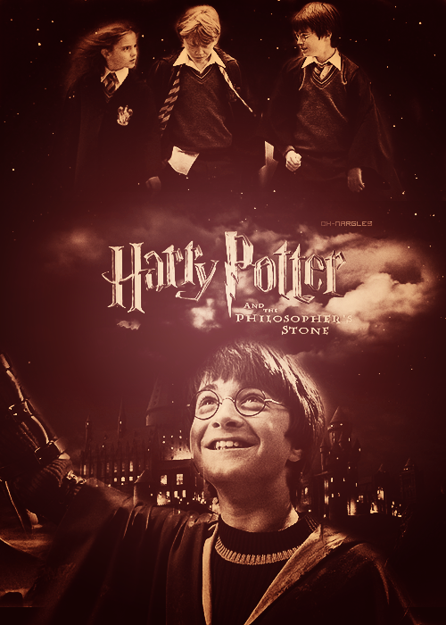 Harry Potter Poster Remake → Philosopher's Stone