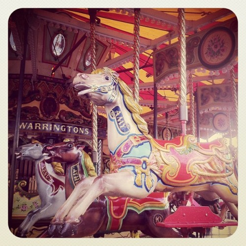 The carnies have arrived!  (Taken with Instagram at Eyre Square)