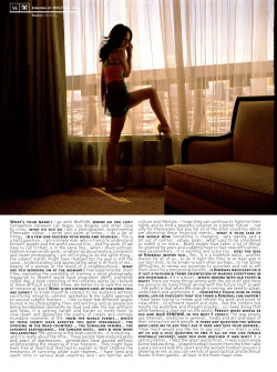 Wolf189's photography & interview in Clam Magazine 24 http://wolf189.com/ http://wolf189.tumblr.com/ featuring lovely miss Tanya D. Look for Clam Magazine in Paris, Tokyo, New York City, Los Angeles, San Francisco, Hong Kong etc.