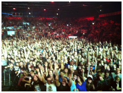Yeah, Paris, we think that'll work. You were unbelievable tonight—we've still got chills. Thank you!