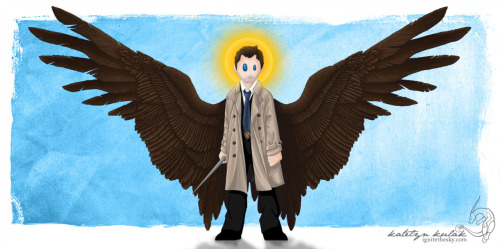 This is saved on my computer as 'Pocket!Cas is My Spirit Animal.'