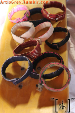 Introducing::: The NEW Peerless Collection Bracelets Hand-sewn, so when they are gone, they are Gone.! [[For custom pieces or for ordering information send me an email:: ShaymarWH [at] Yahoo [dot] Com]].