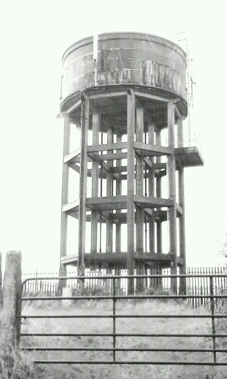 Ballyragget water tower. Co. Kilkenny.