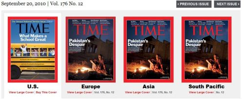 "American Idiots: It's almost laughable the social pseudo-trends that make it on the U.S. covers of TIME and Newsweek while the rest of the world spins madly into chaos. For a long time I used to think that media conglomerates had a responsibility to report news — regardless how alarming — and raise overall public awareness of ""real issues."" However while interning at Newsweek, I learned that these covers undergo focus groups to gauge mass market appeal. And surprise! No one wants to pick up a magazine with a photo of a gauntly foreigner strained with despair while waiting to purchase diet soda and Corn Flakes at Safeway. I still think someone's ought to force us though."