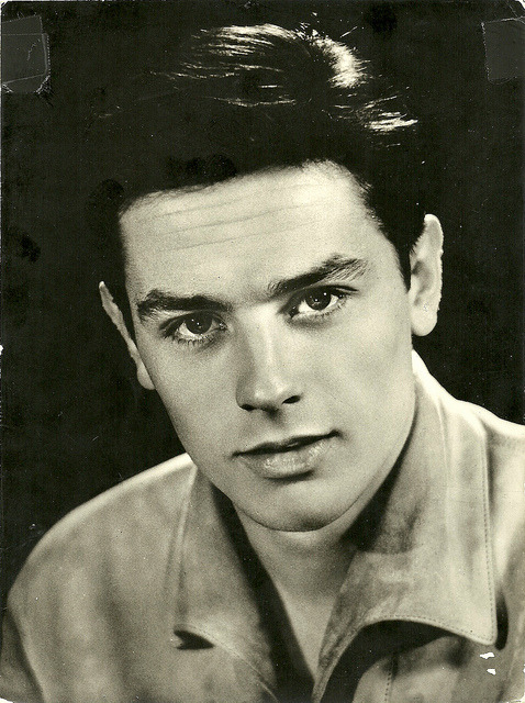 Alain Delon by Truus, Bob & Jan too! on Flickr.