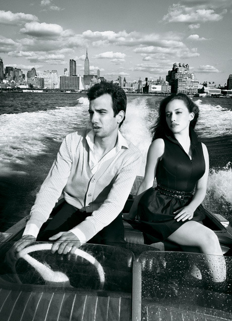 Jay Baruchel and Kat Dennings -  I know Jay's engaged but I want these two to get married and have awesome, outgoing but socially awkward children.
