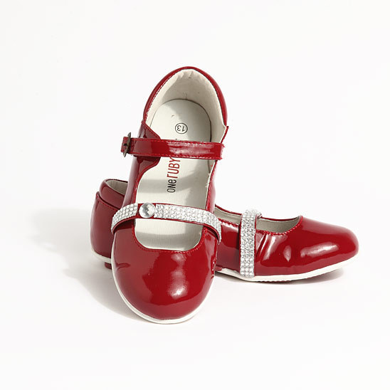 Saturday on zulily: Your glitzy gal can kick up her heels in One Ruby Lane's shimmering sandals, gleaming mary janes and dazzling flip flops.