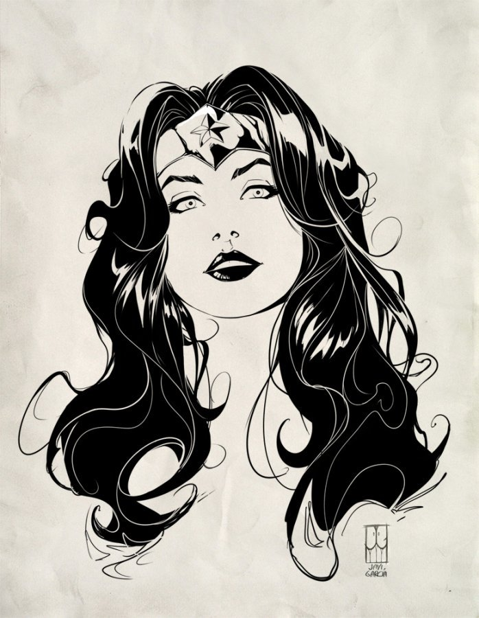 Such a wonderful wonder woman picture. It is simple, but it says more than enough about her character.