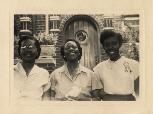 Mrs. Sharpe & Friends 1940's-50's [Sharpe Family Album] ©WaheedPhotoArchive, 2011