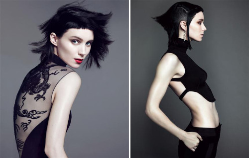 bohemea:  Rooney Mara - Vogue outtakes by Mert & Marcus, November 2011