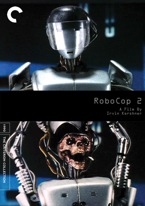 "fakecriterions:  Fake Criterions ""Year One"" entry. Robocop 2 [1990], by Chris McDonald."